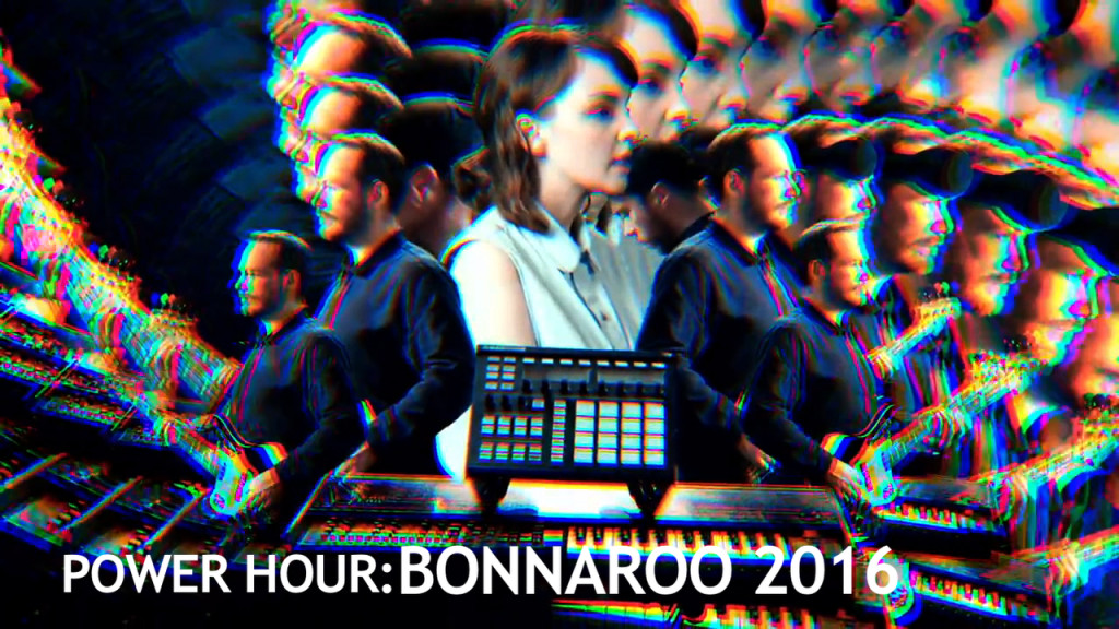 "Watch Bonnaroo 2016 Power Hour featuring CHVRCHES ""Gun"""